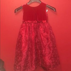 Youngland Red Dress Girls Size 5T
